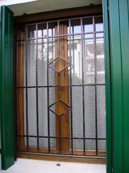 Inferriate di sicurezza rovigo verona padova e vicenza - Inferriate porta finestra ...