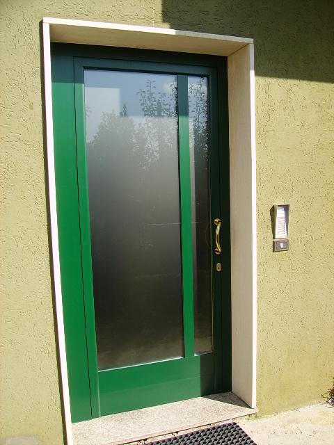 Porte in alluminio in ferro in pvc a venezia padova e - Tipologie di porte ...