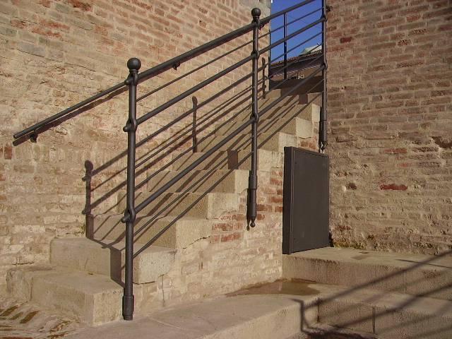 Scale interne e scale esterne a Verona, Padova, Ferrara e Rovigo