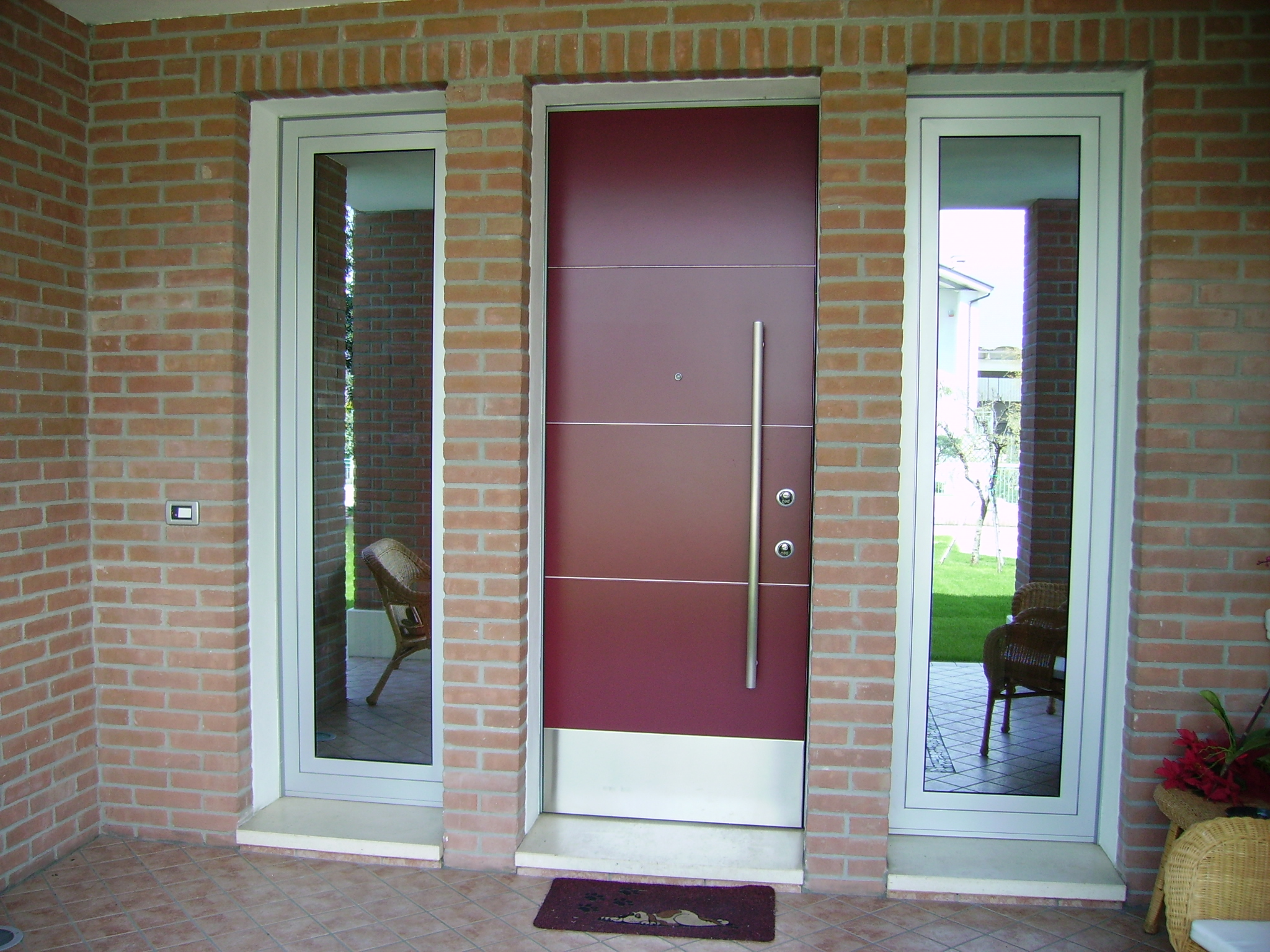 Porte esterne in ferro pz78 regardsdefemmes for Porte in pvc prezzi