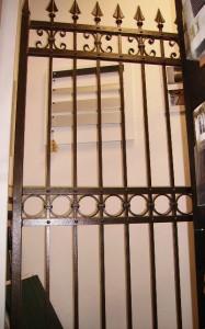 Cancello pedonale in ferro